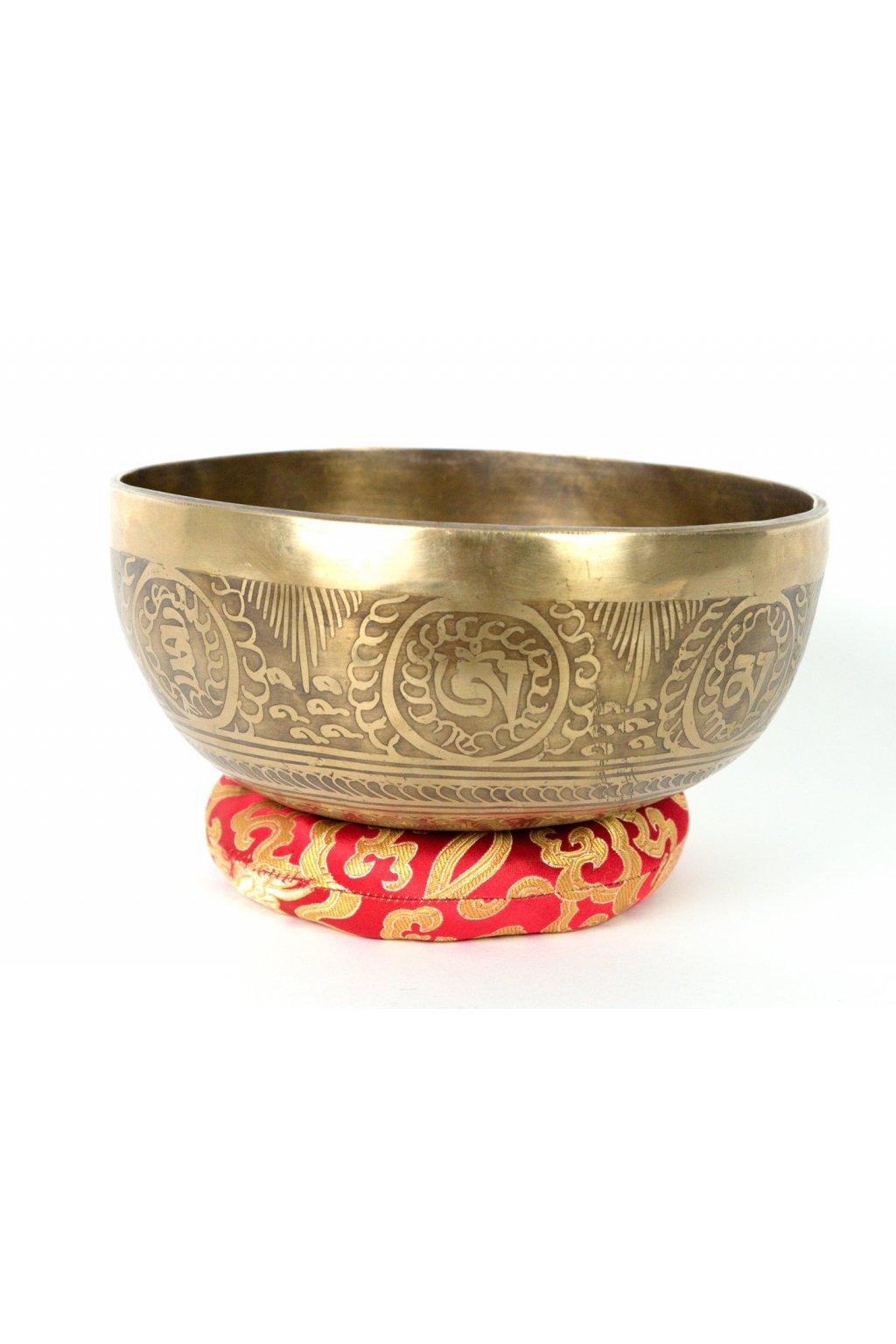 Tibetská zpívající mísa 1081 gr - ručně tepaná