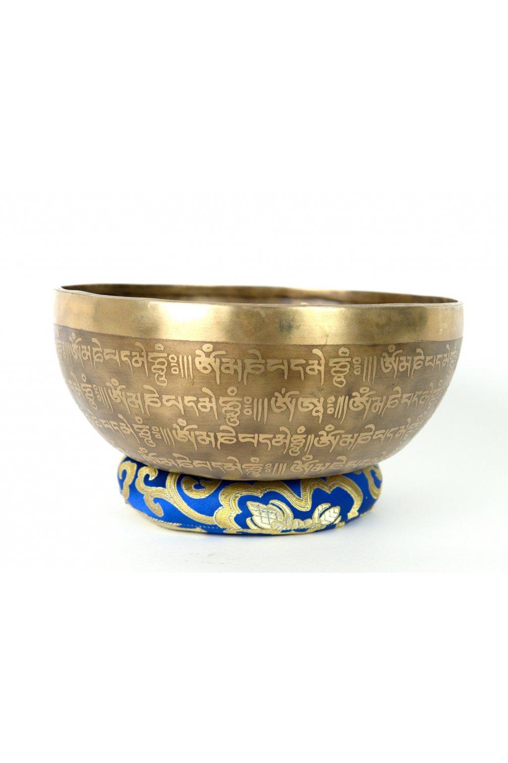 Tibetská zpívající mísa 1111 gr - ručně tepaná