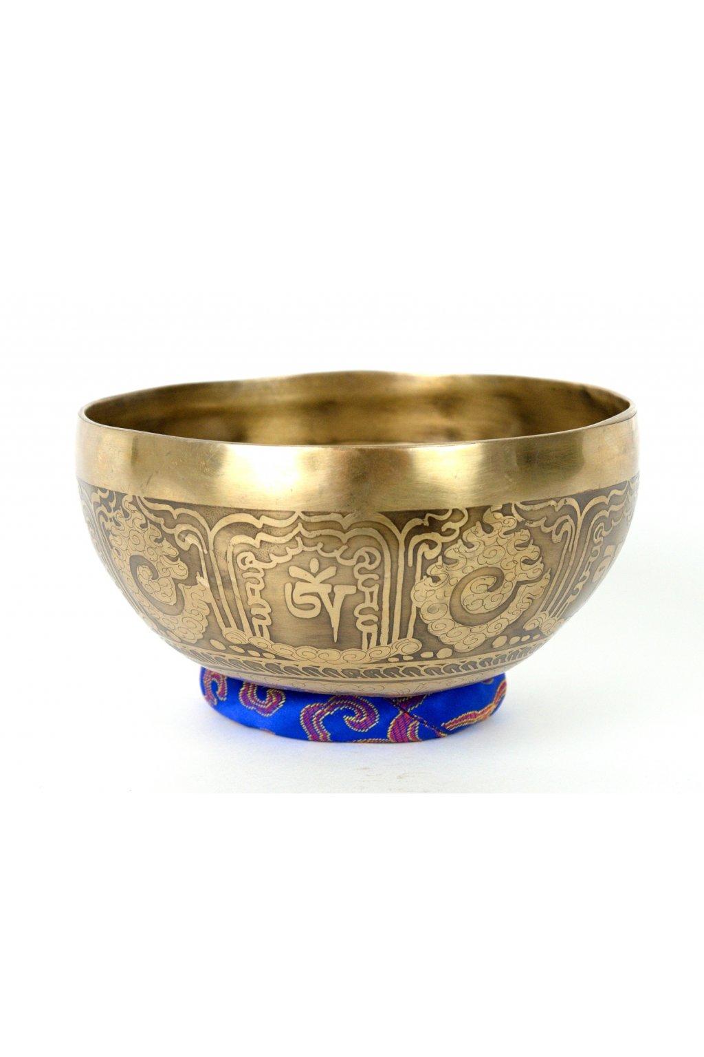 Tibetská zpívající mísa 610 gr - ručně tepaná