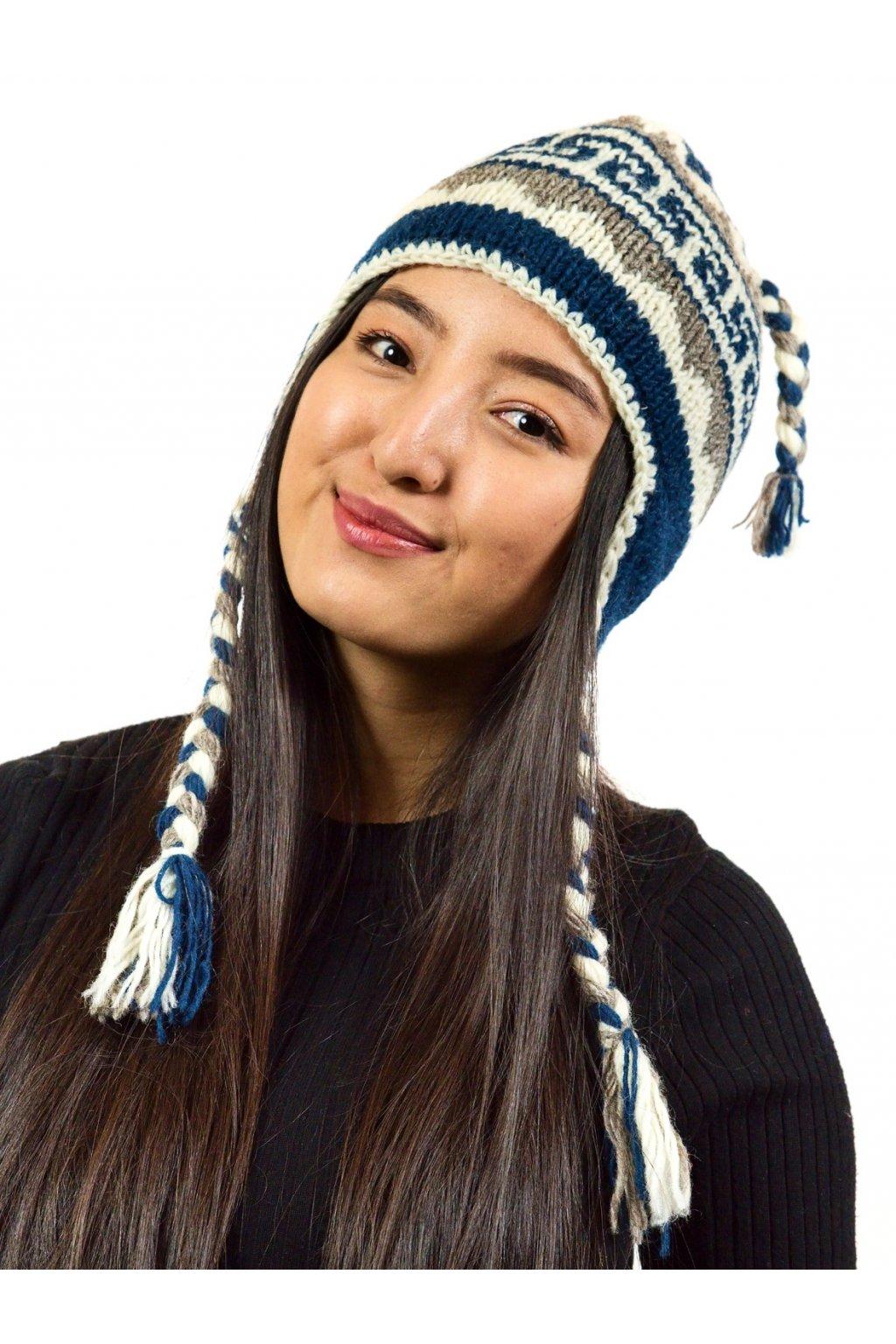 Pletená čepice Everest 8