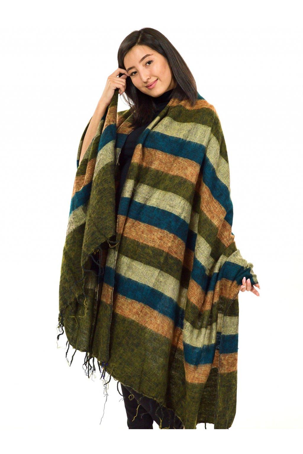 Deka/pléd Yak wool Nepal 50