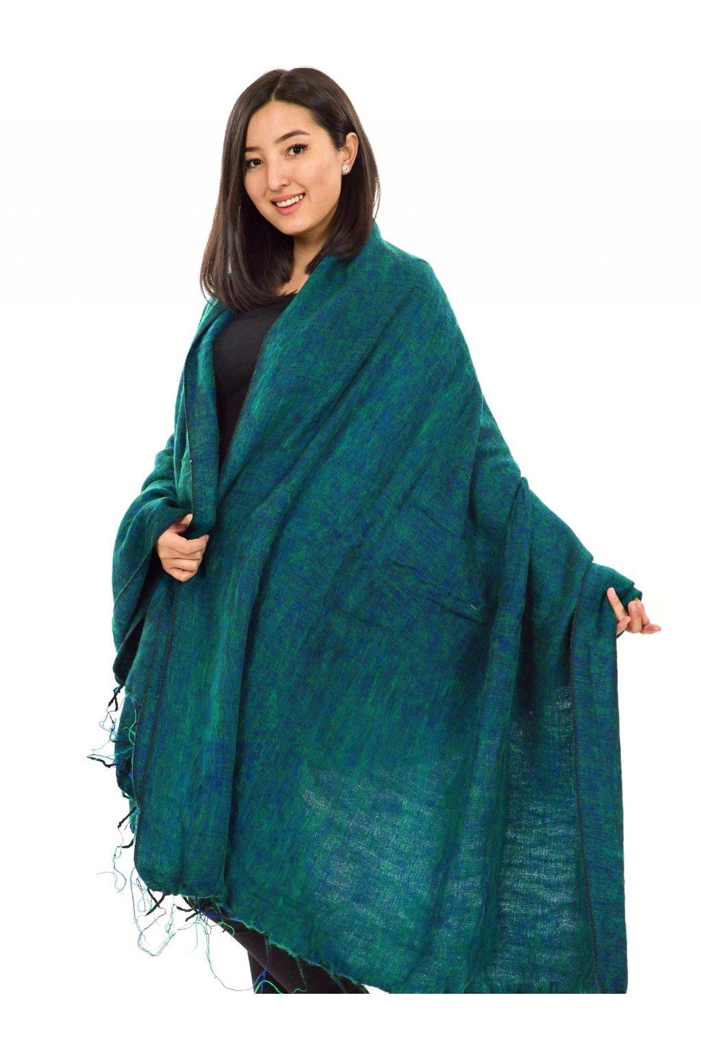 Deka/pléd Yak wool Nepal 57