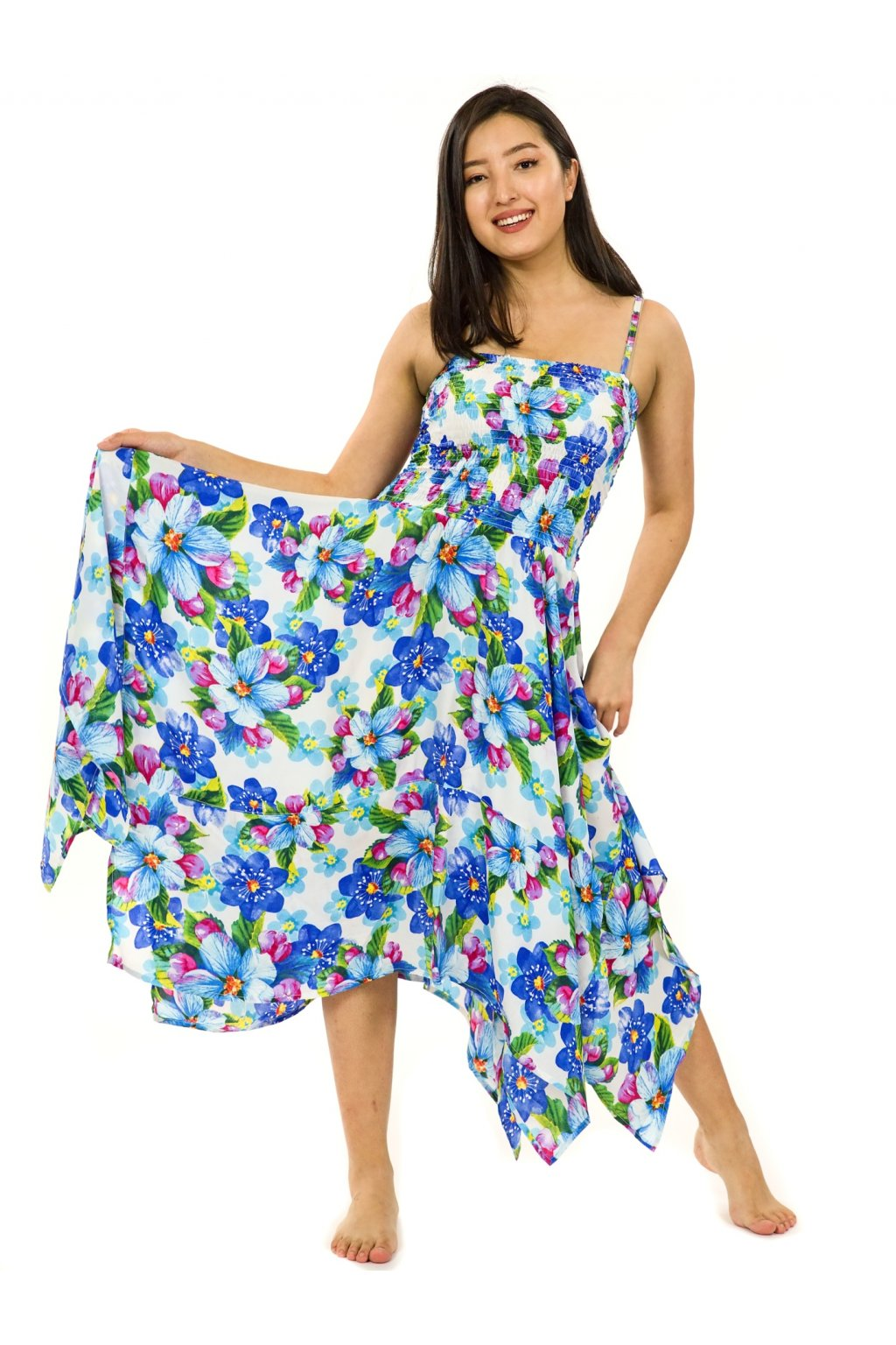 Šaty-sukně 2v1 Dawa Puena - bílá