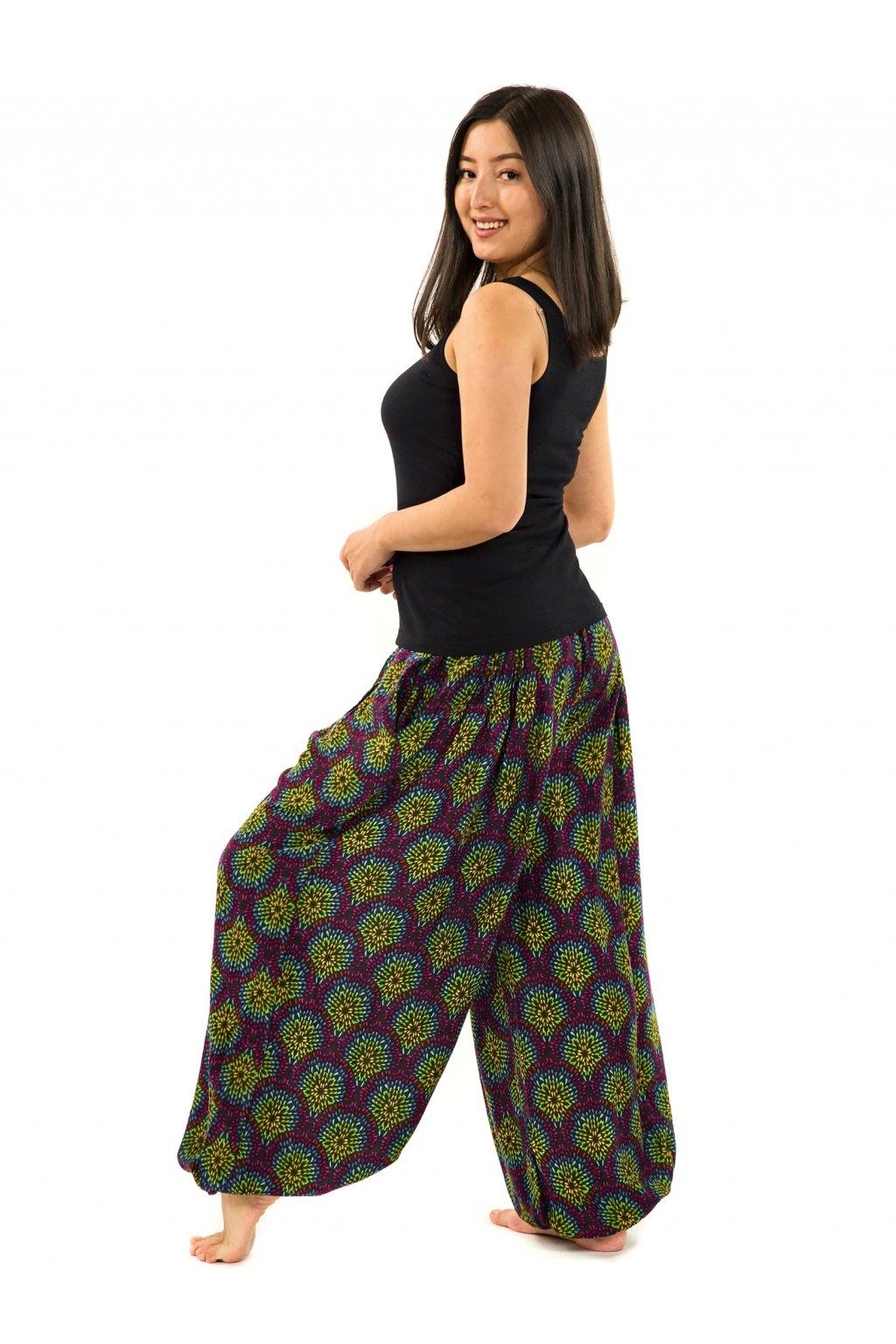 Kalhoty Sumba - barevné