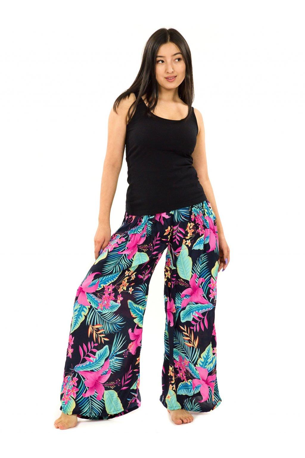 Maxi kalhoty Kihei - černé