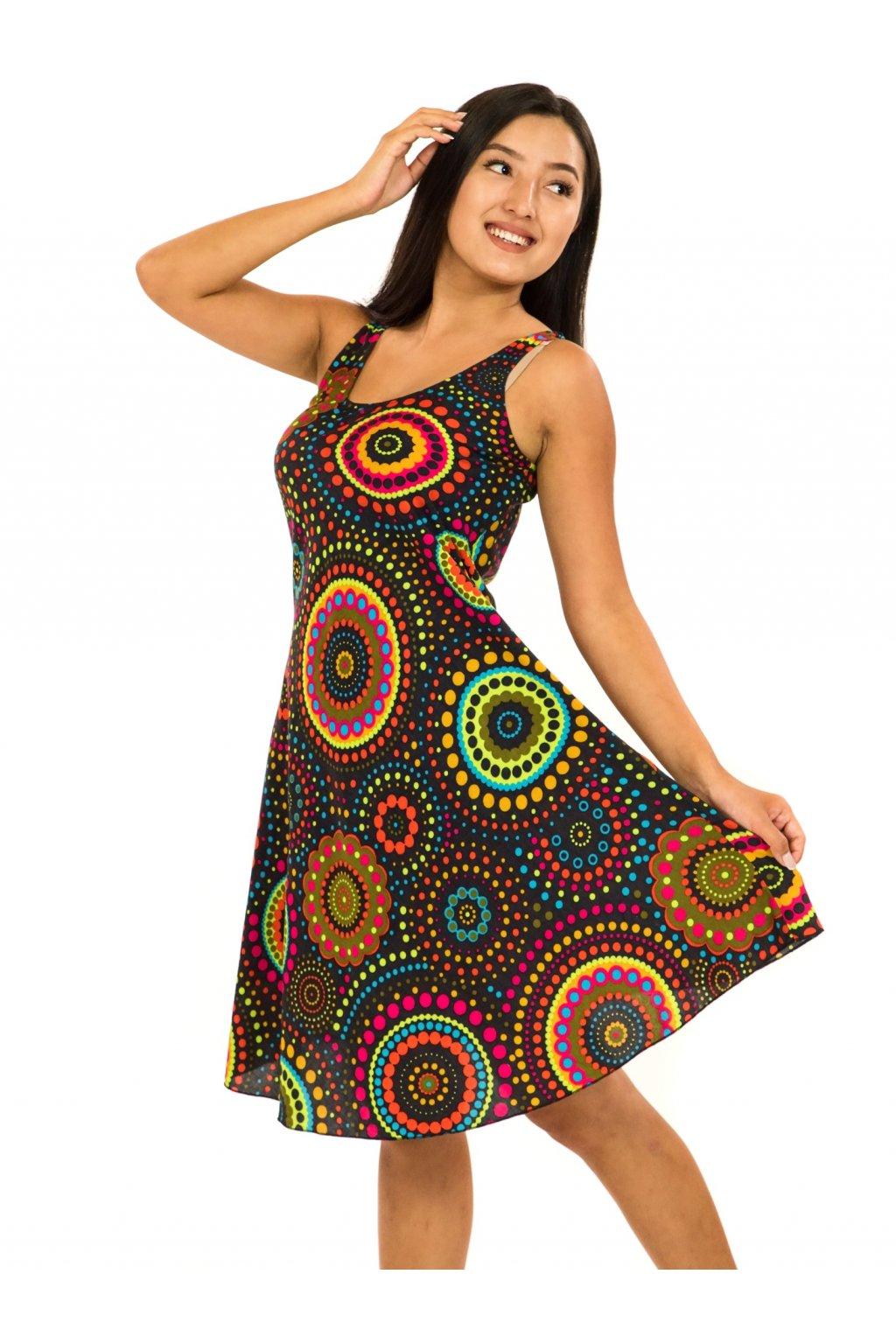 Šaty Ava Dot - černé