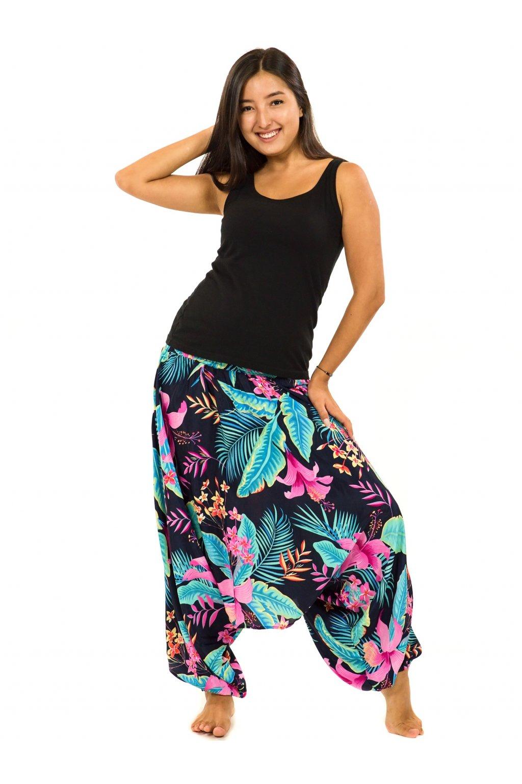 Kalhoty-šaty-top 3v1 Kihei - černá