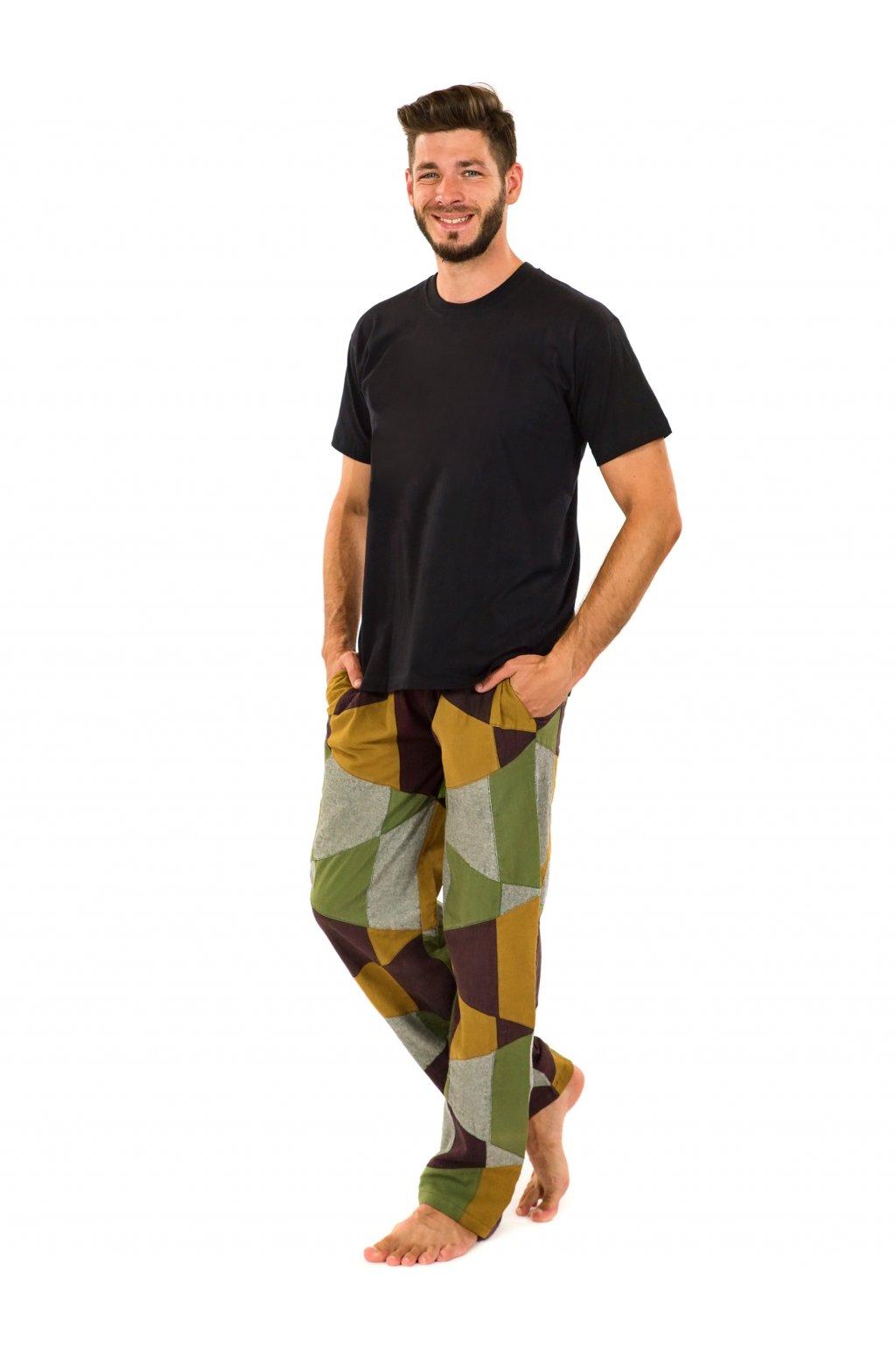 Pánské kalhoty Nirvan - barevné