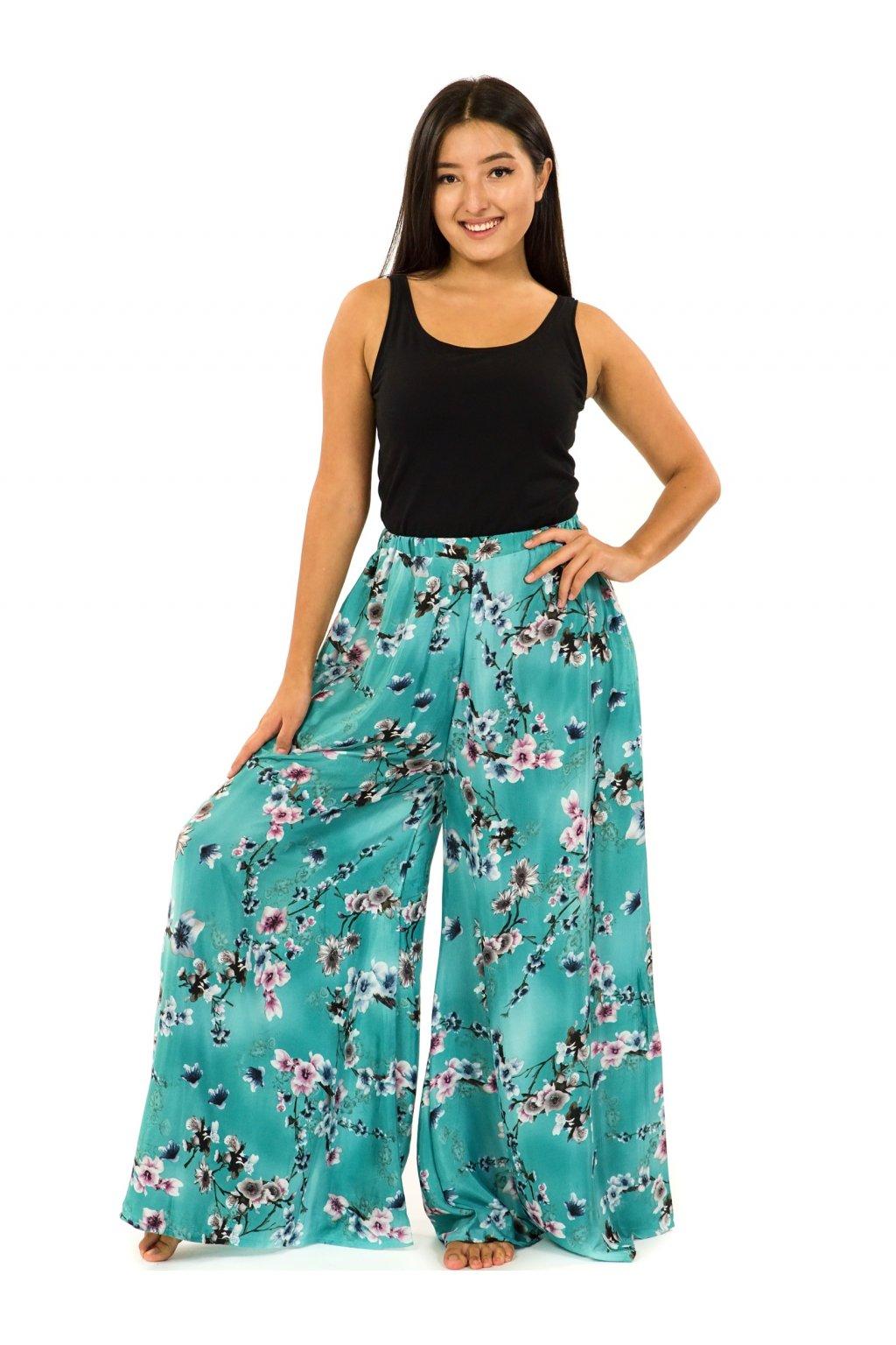 Kalhotová sukně Soha - tyrkysová