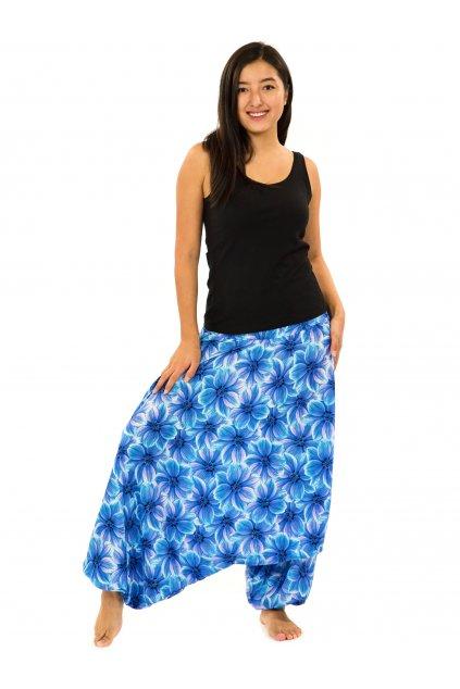 Kalhoty-šaty-top 3v1 Shira - tyrkysová