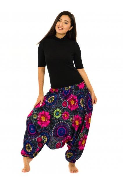 Kalhoty-šaty-top 3v1 Elara - černá
