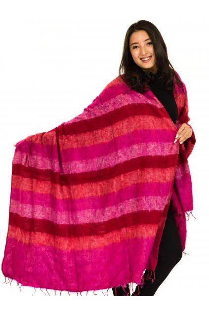 Deka/pléd Yak wool Nepal 62