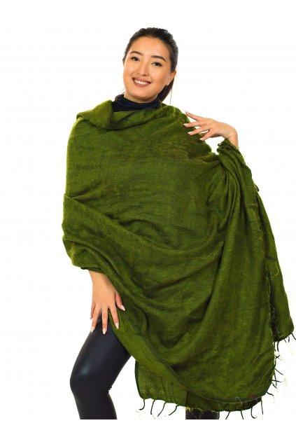 Deka/pléd Yak wool Nepal 63
