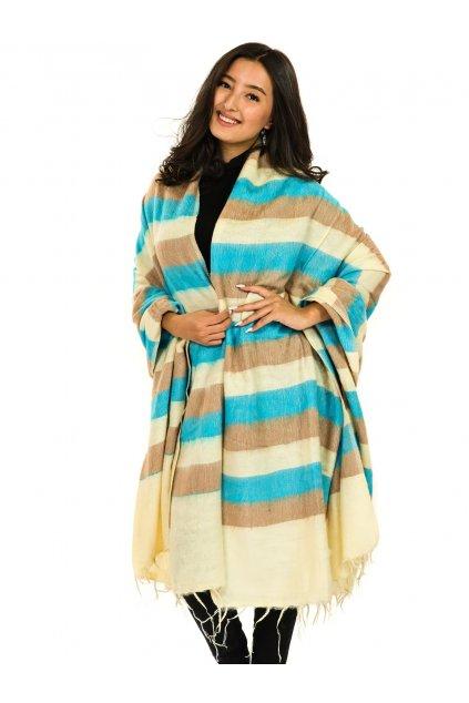 Deka/pléd Yak wool Nepal 65