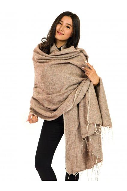 Deka/pléd Yak wool Nepal 66