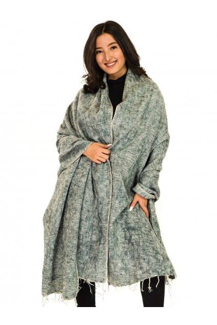 Deka/pléd Yak wool Nepal 67