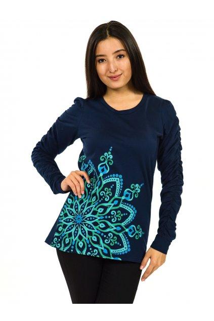 Mikina Aisha - tmavě modrá