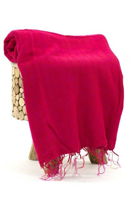Deka/pléd Yak wool Nepal 11
