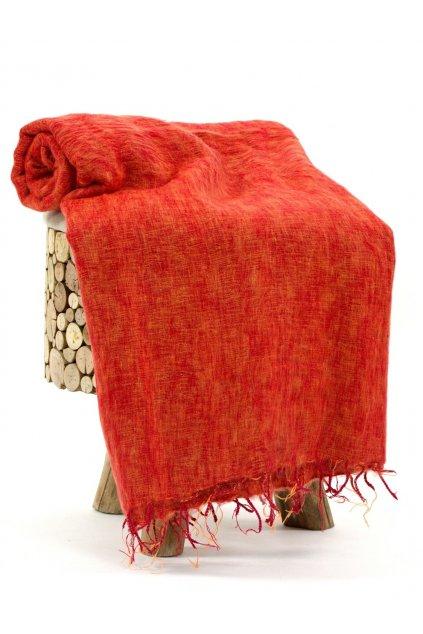 Deka/pléd Yak wool Nepal 15