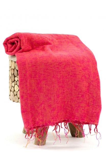 Deka/pléd Yak wool Nepal 18