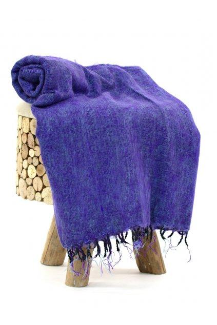 Deka/pléd Yak wool Nepal 20