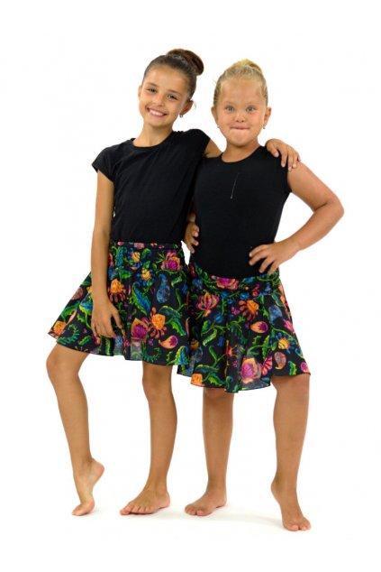 Dětská kolová sukně - Meda