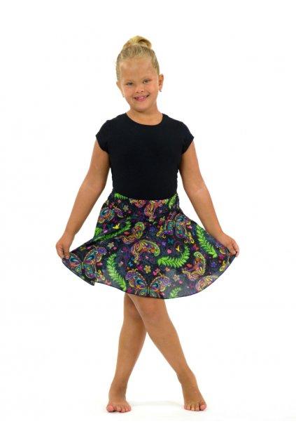 Dětská kolová sukně - Priva