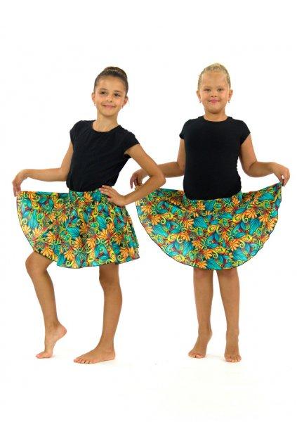 Dětská kolová sukně - Rula