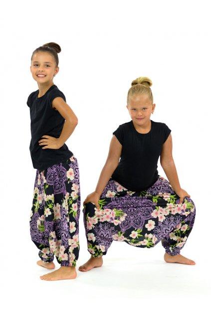 Dětské kalhoty-šaty-top 3v1 - Sakura