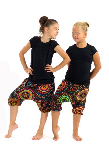 Dětské kraťasy Dot - černé