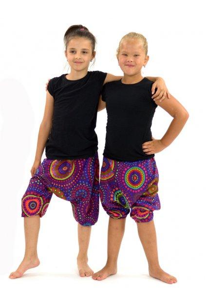 Dětské kraťasy Dot - fialové