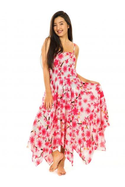 Šaty-sukně 2v1 Dawa Sakura - bílé