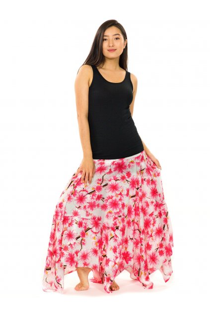 Dlouhé maxi šaty Sakura