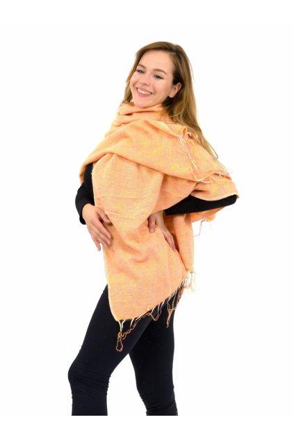 Hřejivá šála Yak wool 21