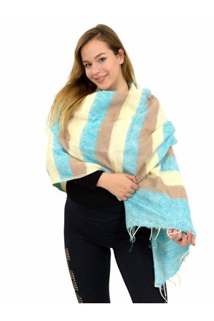 Hřejivá šála Yak wool 35