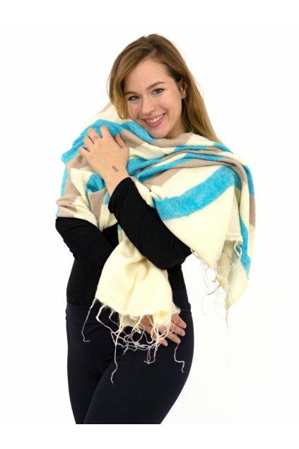 Hřejivá šála Yak wool 44