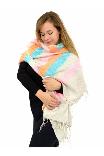 Hřejivá šála Yak wool 45