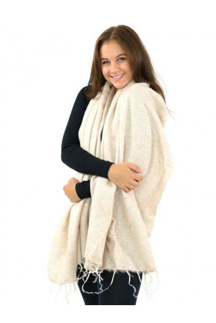 Hřejivá šála Yak wool 47