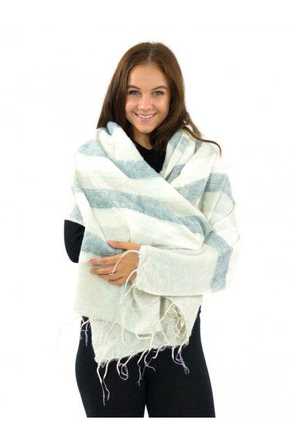 Hřejivá šála Yak wool 54