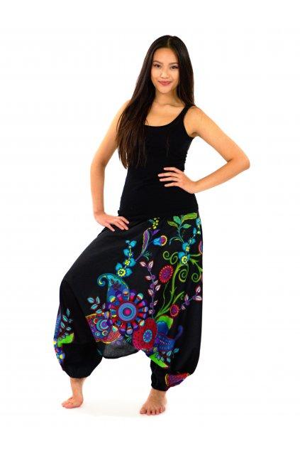 Kalhoty-šaty-top 3v1 Garden of Nepal - černé
