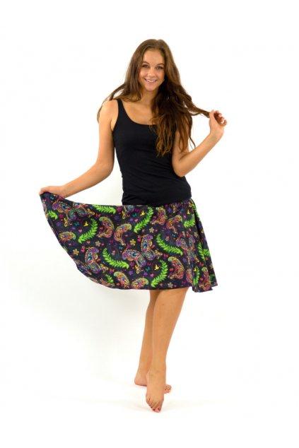 Kolová sukně Priva