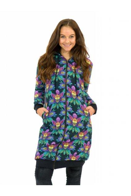 Podzimní/zimní kabát Shimla - LOTOS - dlouhý