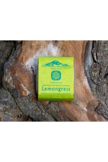 Ručně vyrobené mýdlo z Nepálu - Citrónová tráva