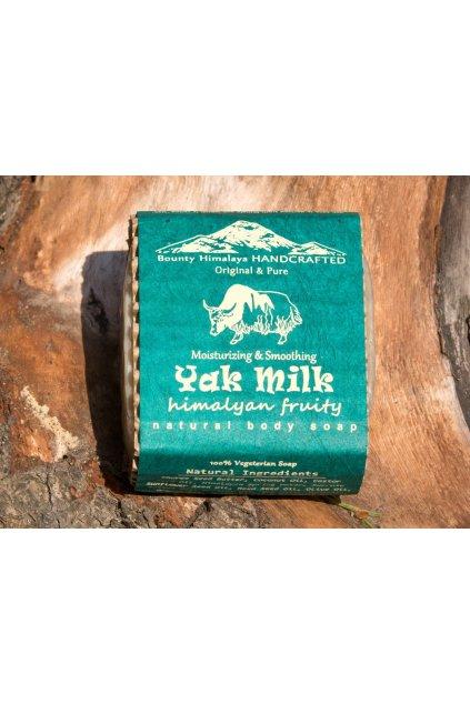 Ručně vyrobené mýdlo z Nepálu Yak milk - Himalájské ovoce
