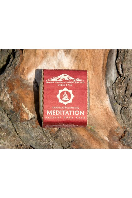 Ručně vyrobené mýdlo z Nepálu - Meditace