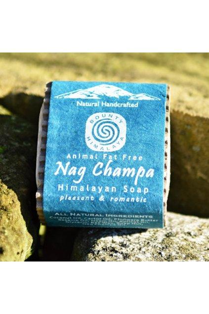 Ručně vyrobené mýdlo z Nepálu - Nag Champa