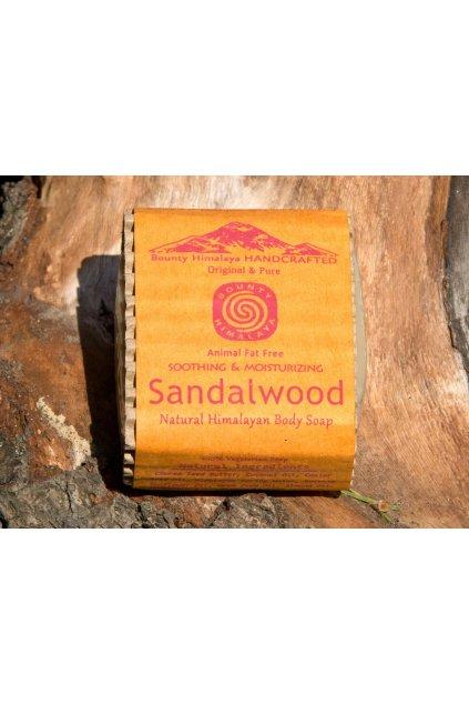 Ručně vyrobené mýdlo z Nepálu - Santalové dřevo