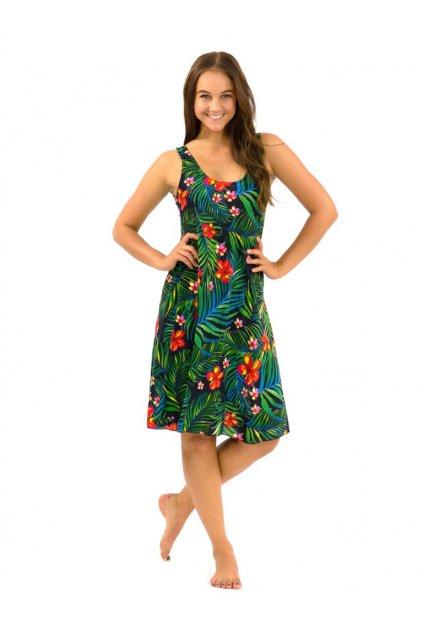 Šaty Ava - Listy s květy