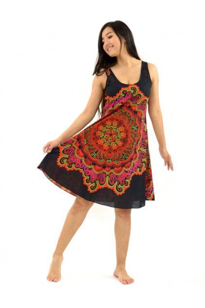Šaty Ava Sun - oranžové