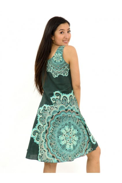 Šaty Ava Sun - tyrkysové